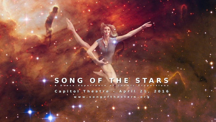 A powerful, inspirational performance fusing astronomy and dance--the life stories of the stars above, captured live for film and VR.