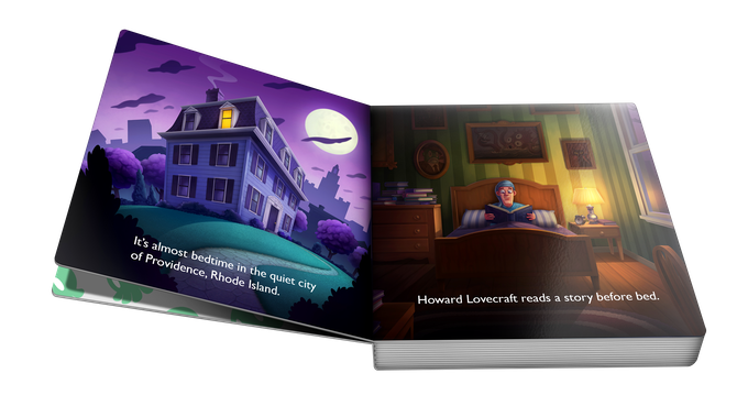 Sweet dreams cthulhu a lovecraftian bedtime board book by jason in the story howard lovecraft is awakened late one night by his old friend cthulhu who has had a hard time sleeping due to some bad dreams and other fandeluxe Epub
