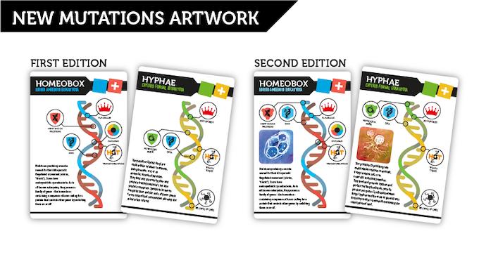New mutation cards