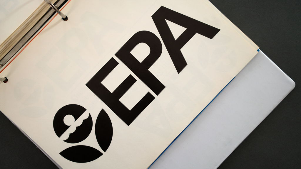 1977 EPA Graphic Standards System reissue project video thumbnail