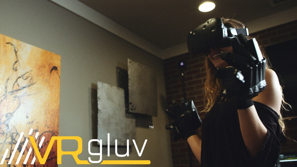 VRgluv - Touch, Hold and Interact in the Virtual World project video thumbnail