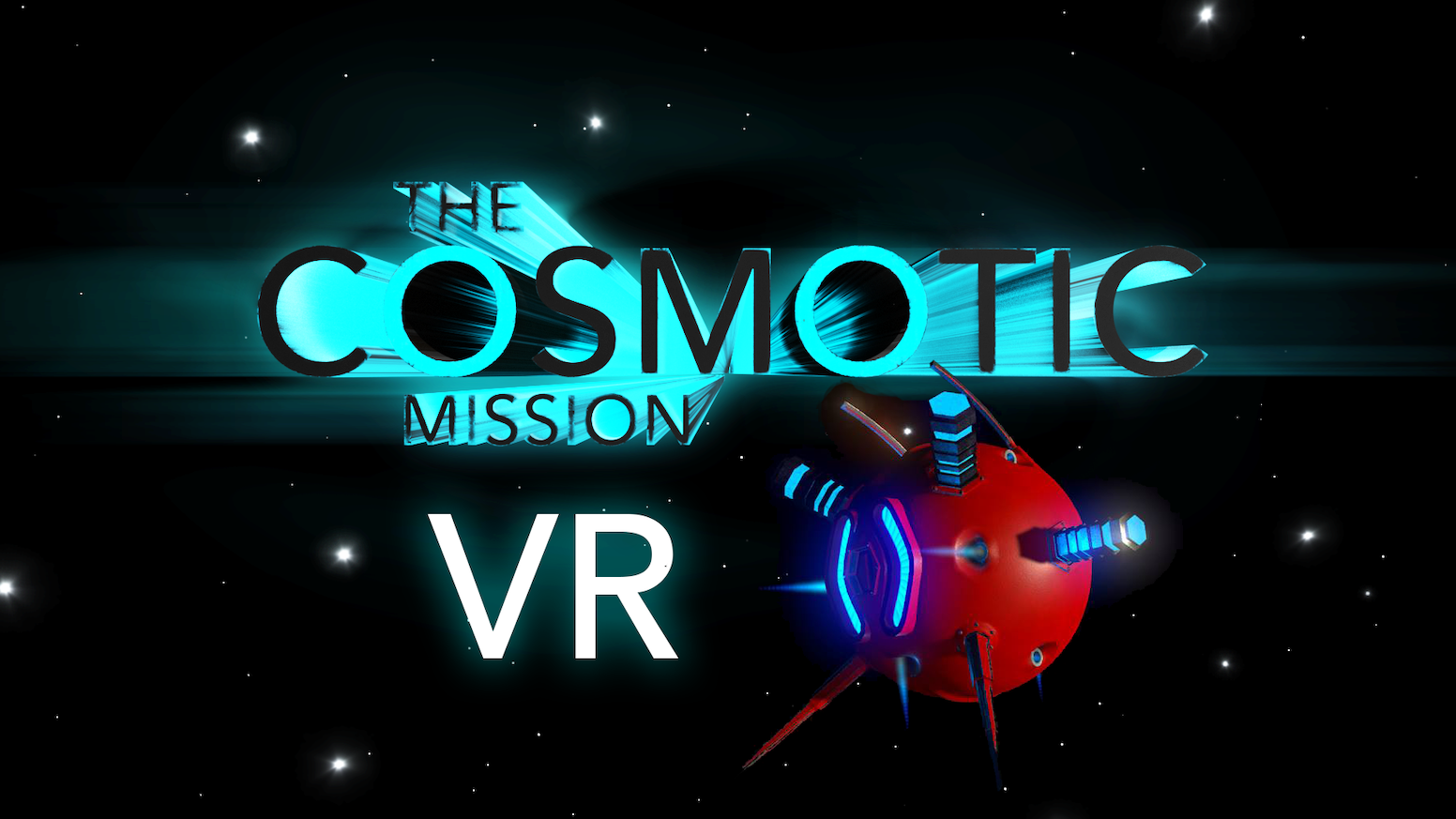 The Cosmotic Mission is a Virtual Reality game with the objective to travel around space to find the energy of the crystals.