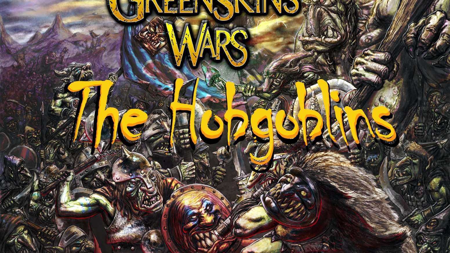 This campaign's goal is to fund the new Hobgoblins race to be added to the Greenskin Wars universe. All models sculpted by Kev Adams!