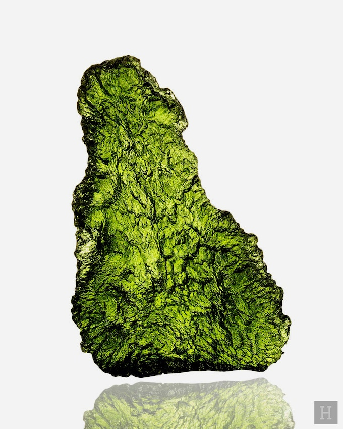 Franz Suess, a geology professor in Vienna, was the first to recognize the cosmic origin of Moldavite.