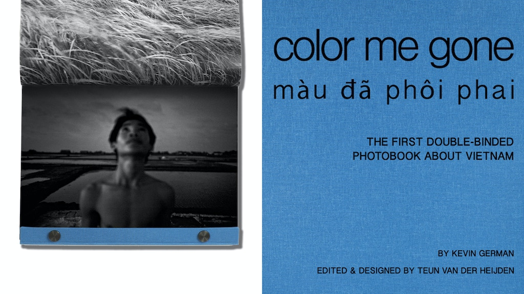 Color Me Gone - The First Double-Binded Photobook on Vietnam project video thumbnail