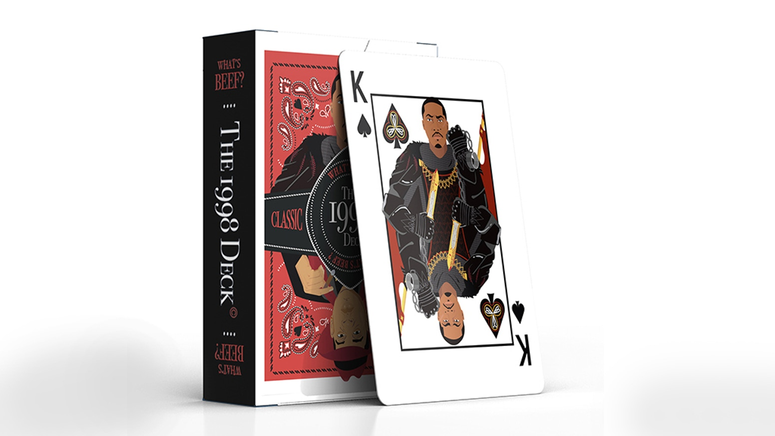 The 1998 Deck : Hip Hop Playing Cards by The 1998 Deck ( Hip-Hop