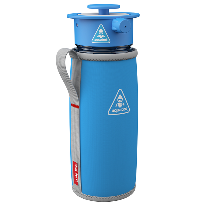 c2bd218ad5 Aquabot: Super Hydration Spray Water Bottle System by Lunatec ...