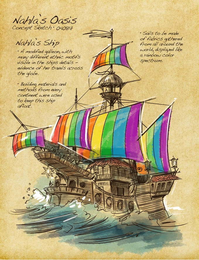 Nahla's Ship