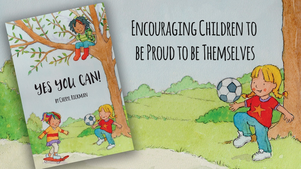 YES YOU CAN! Children's Book to Combat Gender Stereotypes project video thumbnail