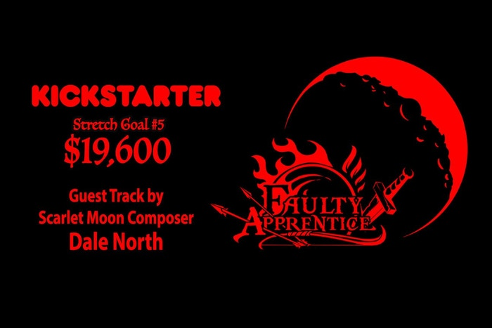 We've reached the 5th Stretch Goal in one day!! Way to go Apprentices!!