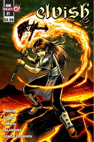 Cover of Elvish #1