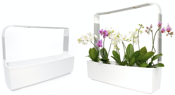 Lamp arms are adjustable: you can use extendable lamp arms for bigger plants. T12 in picture.