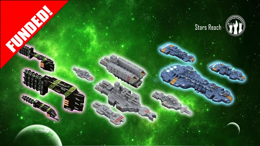 Stars Reach space ship miniatures project video thumbnail