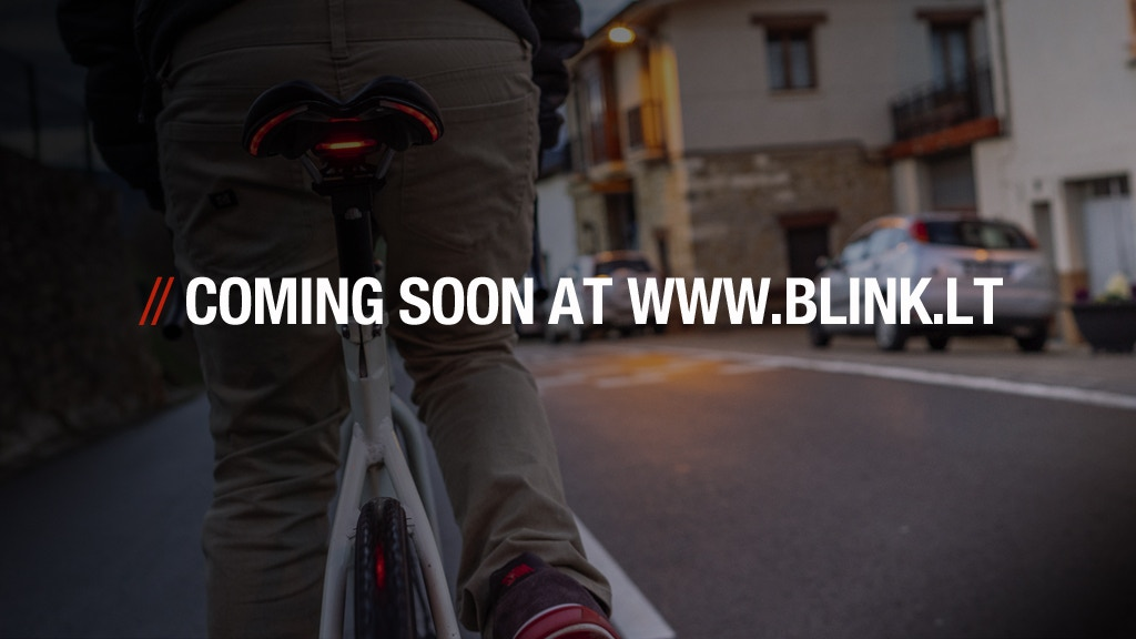 Project image for BLINK!-World's first bike saddles with Integrated Lighting (Canceled)