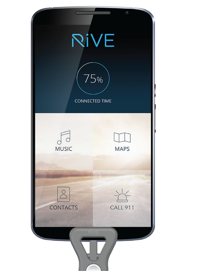 RiVE Mode App Screen