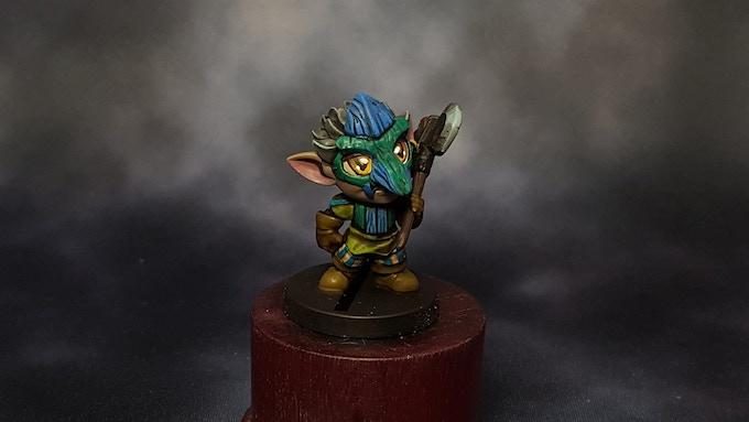 Forest Goblin by Yeji Kim