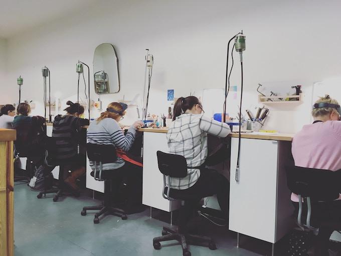 Vanilla Ink Studios in MAKLab