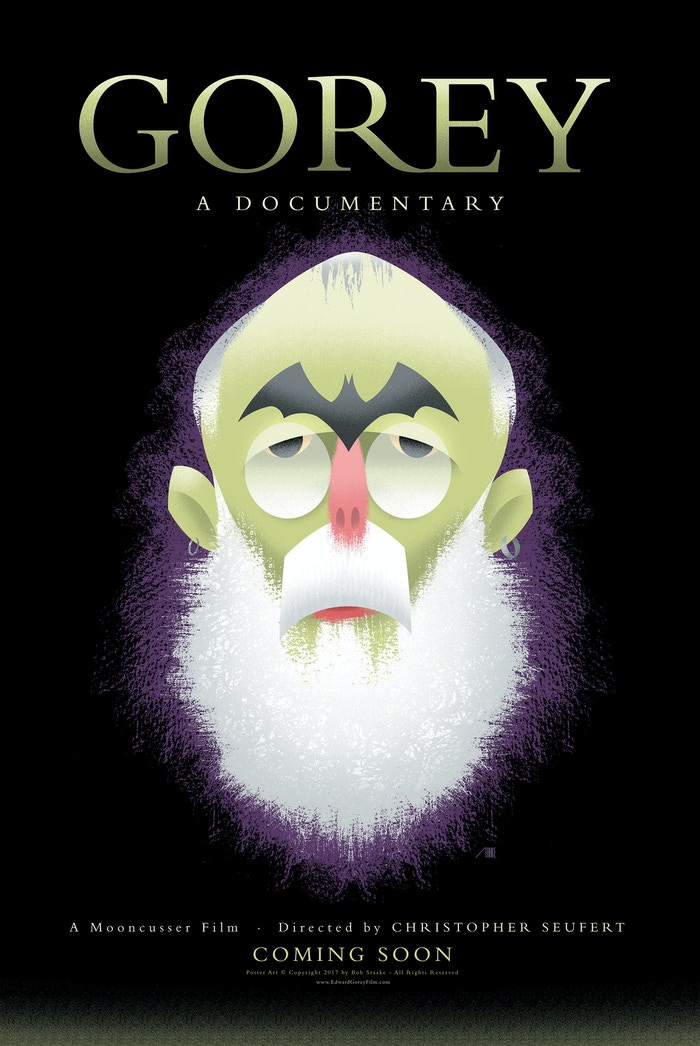 A feature-length documentary about the late, reclusive illustrator Edward Gorey shot with his active participation from 1996 to his death in April, 2000.