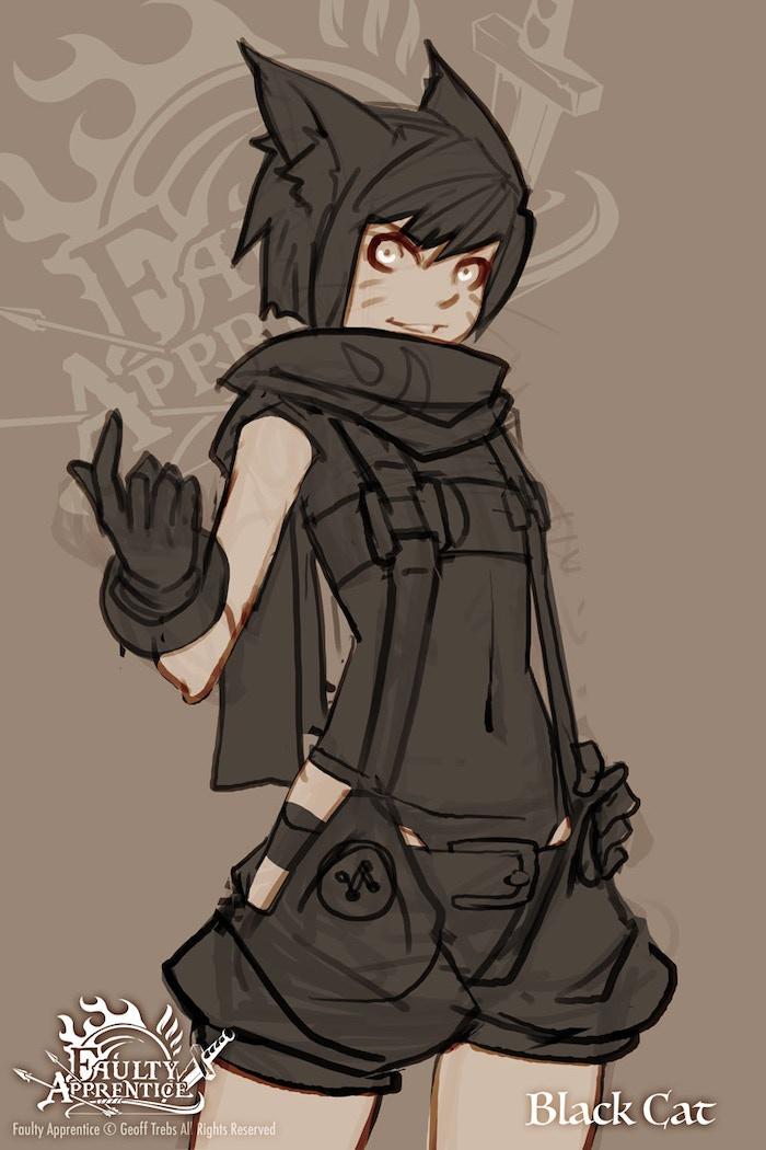 Unlock: Black Cat!!