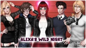Alexa's Wild Night - Adult Visual Novel