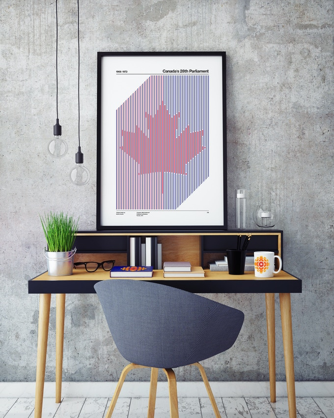 'Canada's 28th Parliament' Limited Edition Poster