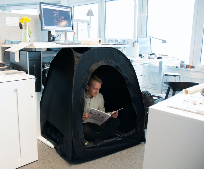 Pause pod your private pop up space for relaxation by for Office nap pod