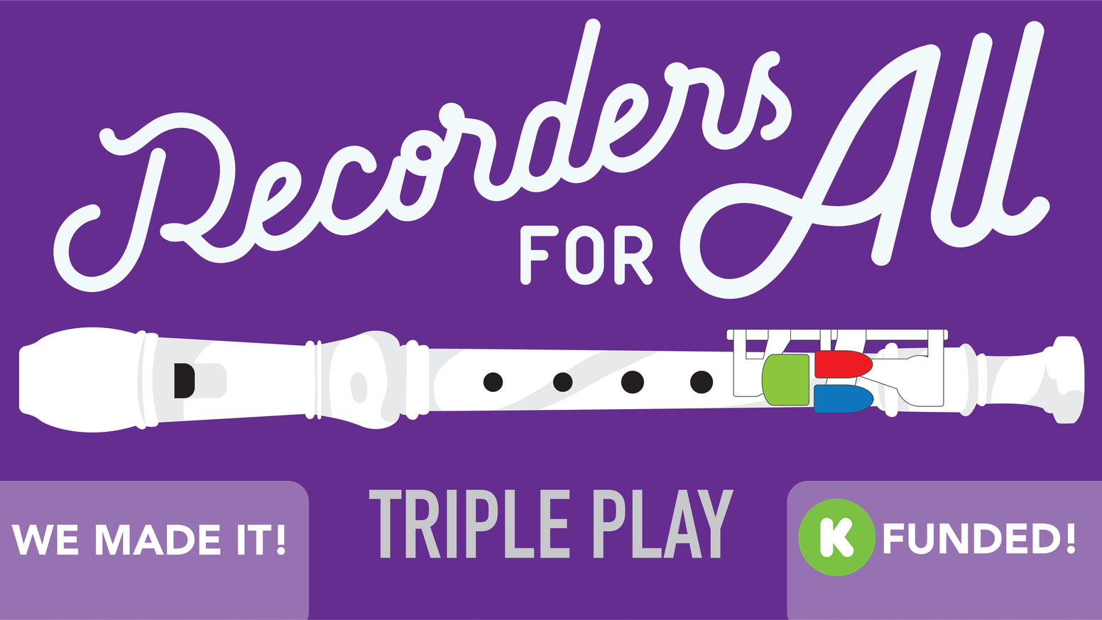 An affordable adaptation for soprano recorder.