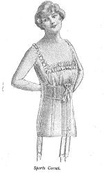 Sports corset