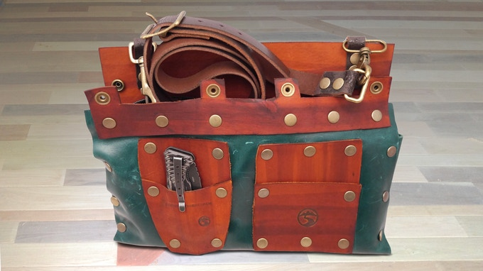 Bag example.  Everyone is different and includes a knife.