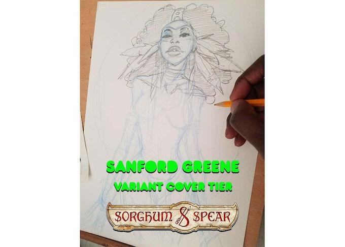 Sanford Greene SORGHUM & SPEAR Variant (WIP)
