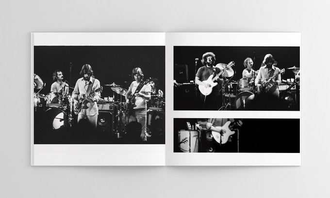 Two-page spread from the second set (Photo F on left)