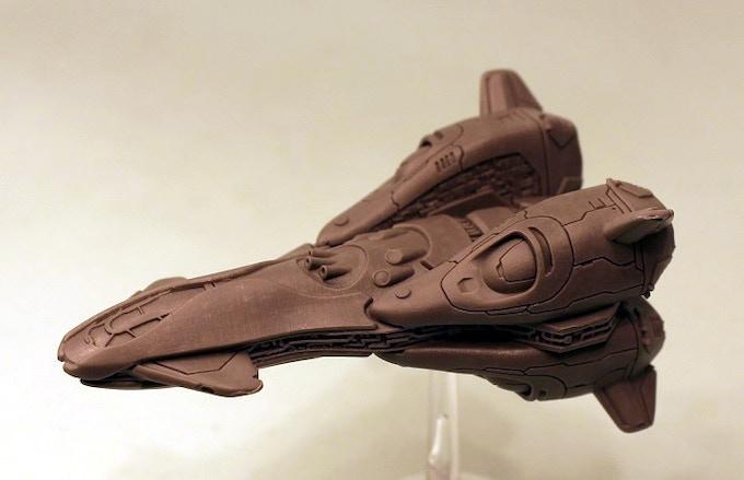 Concord heavy Fighter Resin Model