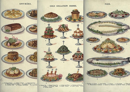 """from """"Mrs. Beeton's Book of Household Management,"""" 1907"""
