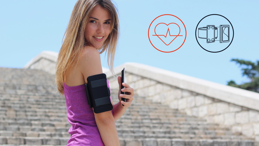 Miniature de la vidéo du projet Shapeheart Armband | Heart rate tracking & easy phone access