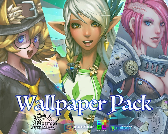 Wallpaper Pack Loot Drop!