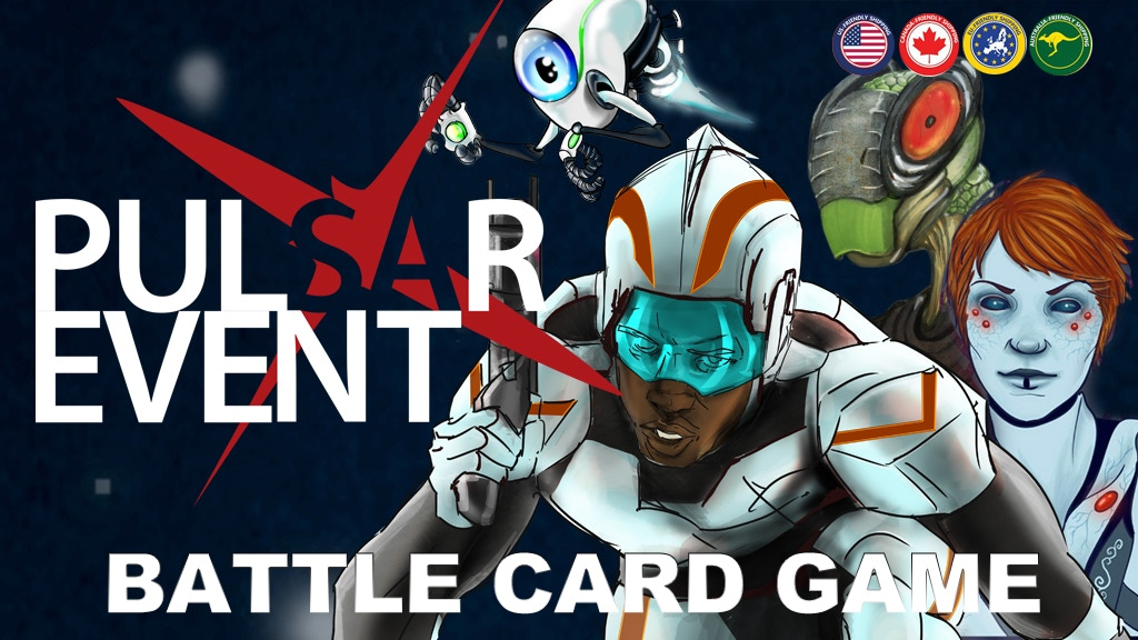 Pulsar Event: Battle Card Game project video thumbnail