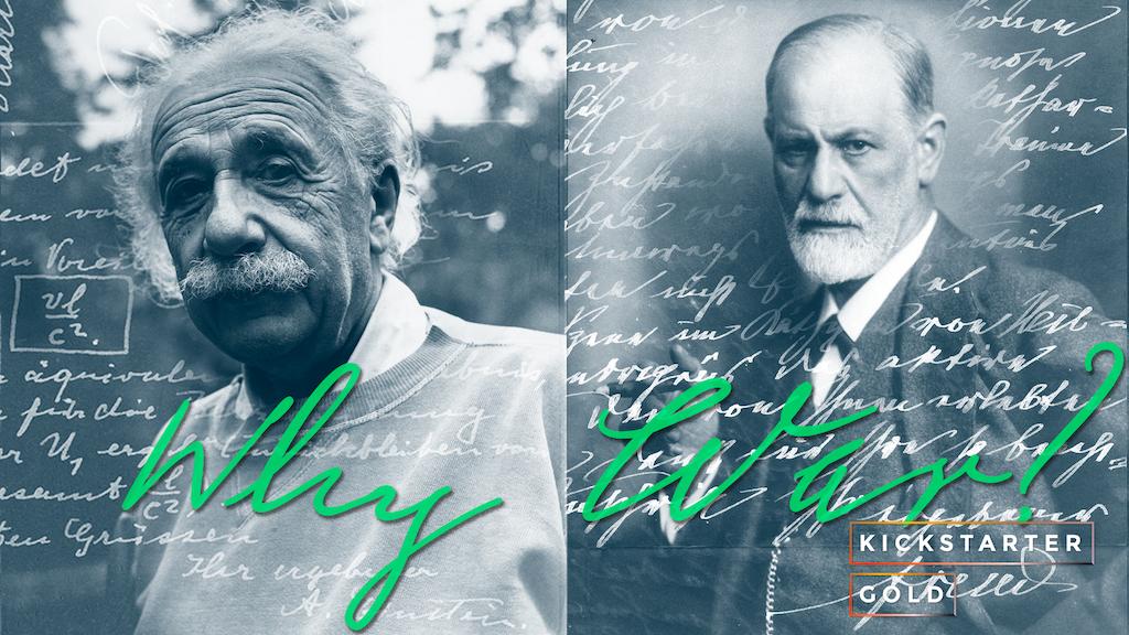 Kickstarter Gold: Pen Pals—Einstein & Freud Handwriting Font project video thumbnail