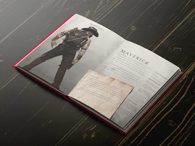 5E Maverick Layout - Click for Full Character Class!