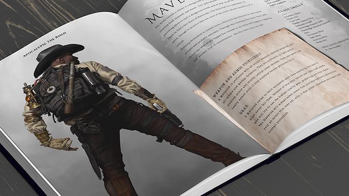PF Maverick Layout - Click for Full Character Class!