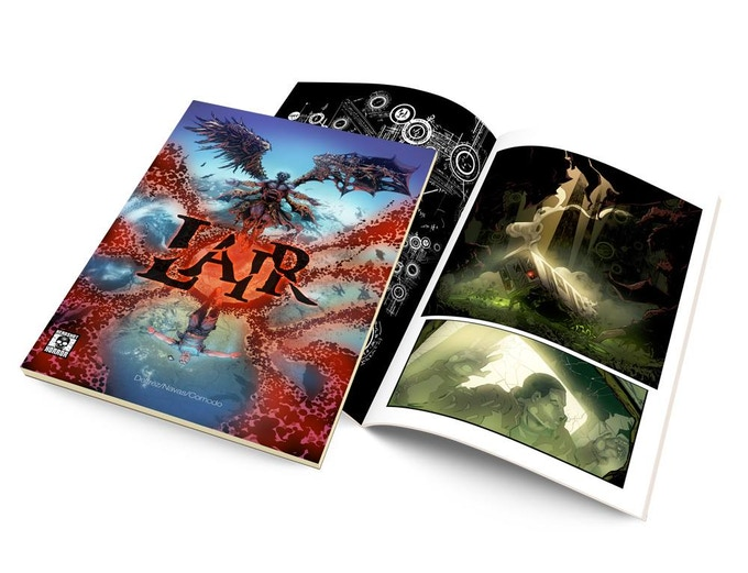 Glimpse of what a tangible copy of LAIR could look like.