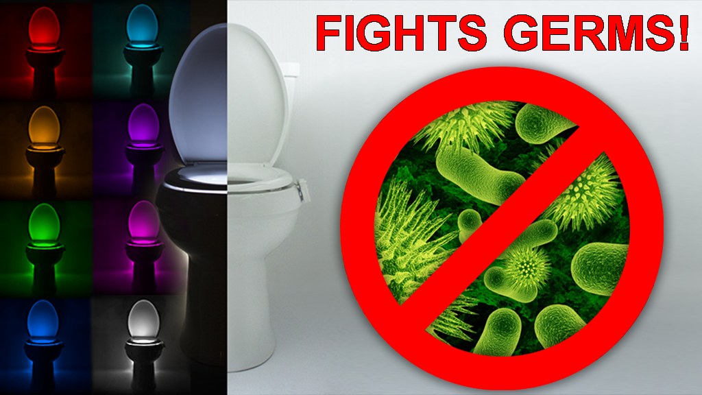 IllumiBowl: ANTI-GERM Toilet Night Light & 2X battery Life! project video thumbnail