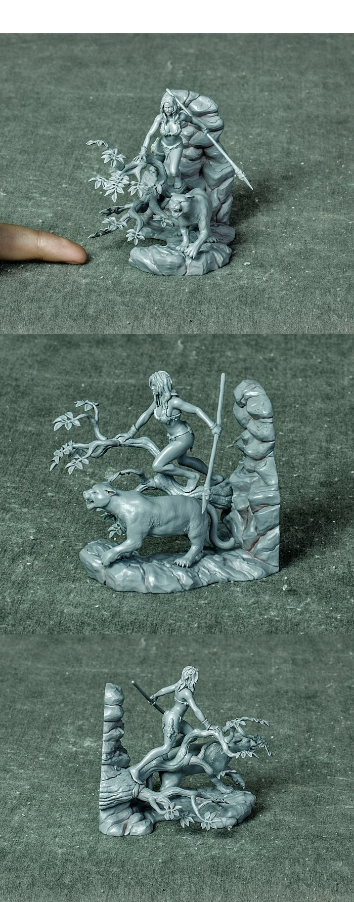 All Hail the Queen - Diroama in 54 mm - Master Copy