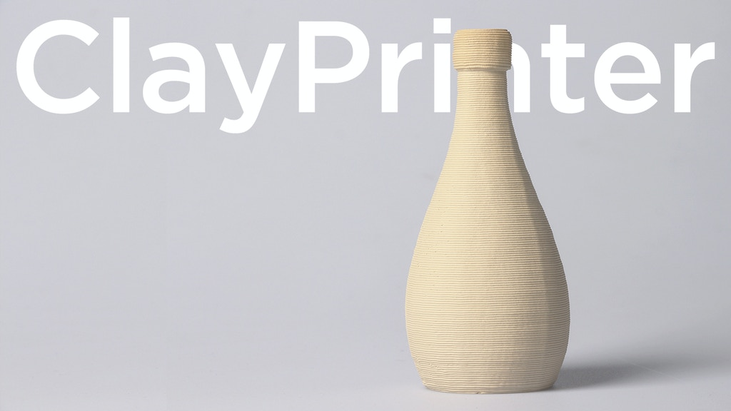ClayXYZ: Desktop 3D Clay Printer, Create Your Own Artwork! project video thumbnail