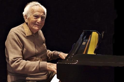 Leo Spellman at the piano