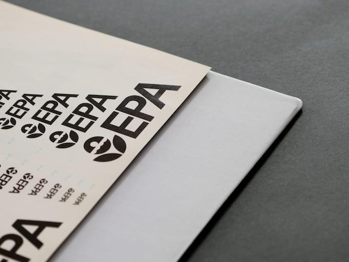 The original EPA Graphic Standards System binder