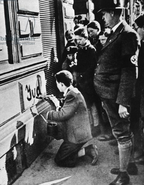 """Jewish youth forced to write """"Jew"""" on a wall"""