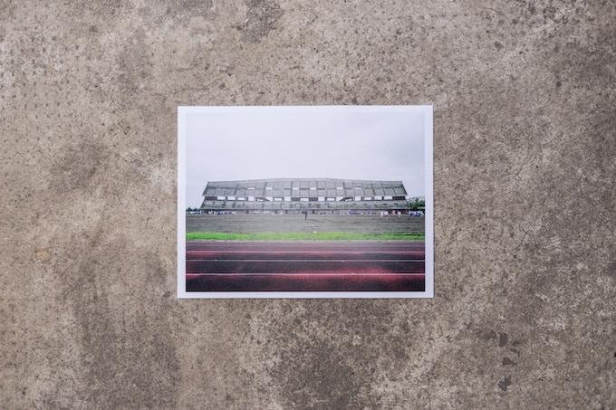 Gabriele Basilico, Stadio del Polo, 2008, 15x20cm - limited edition
