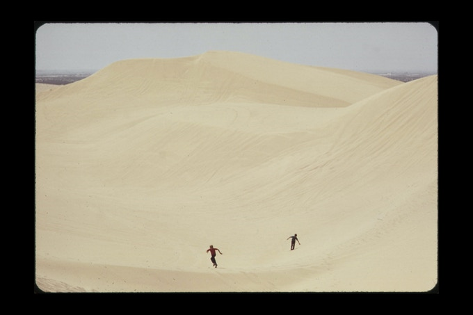 Sand dunes in the Imperial Valley—near Brawley, May 1972. Photographer: Charles O'Rear