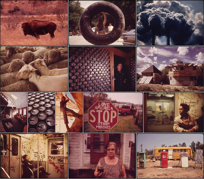 Selection of Documerica photos from various photographers