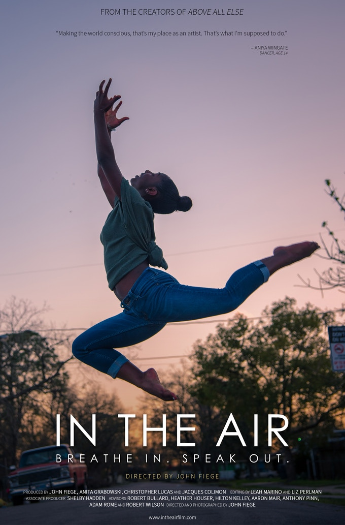 In the Air Poster for $100 +donations